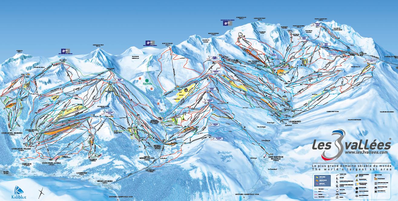 Skidakning I Franska Alperna Direktflyg Och Grym Skidakning