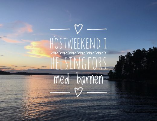 Höstweekend i Helsingfors