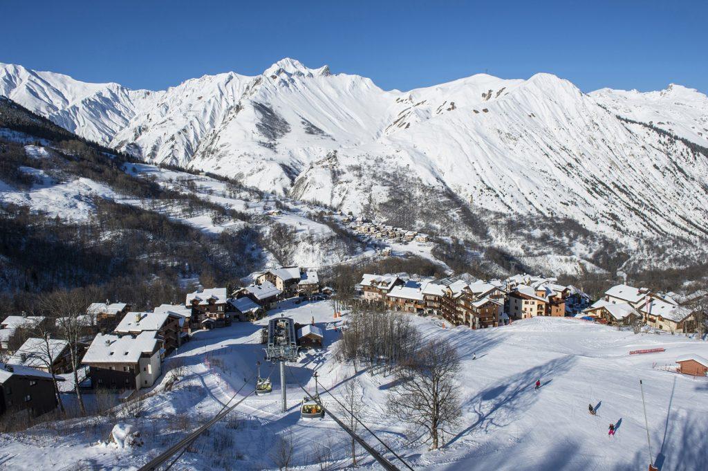 Franska Alperna Saint martin