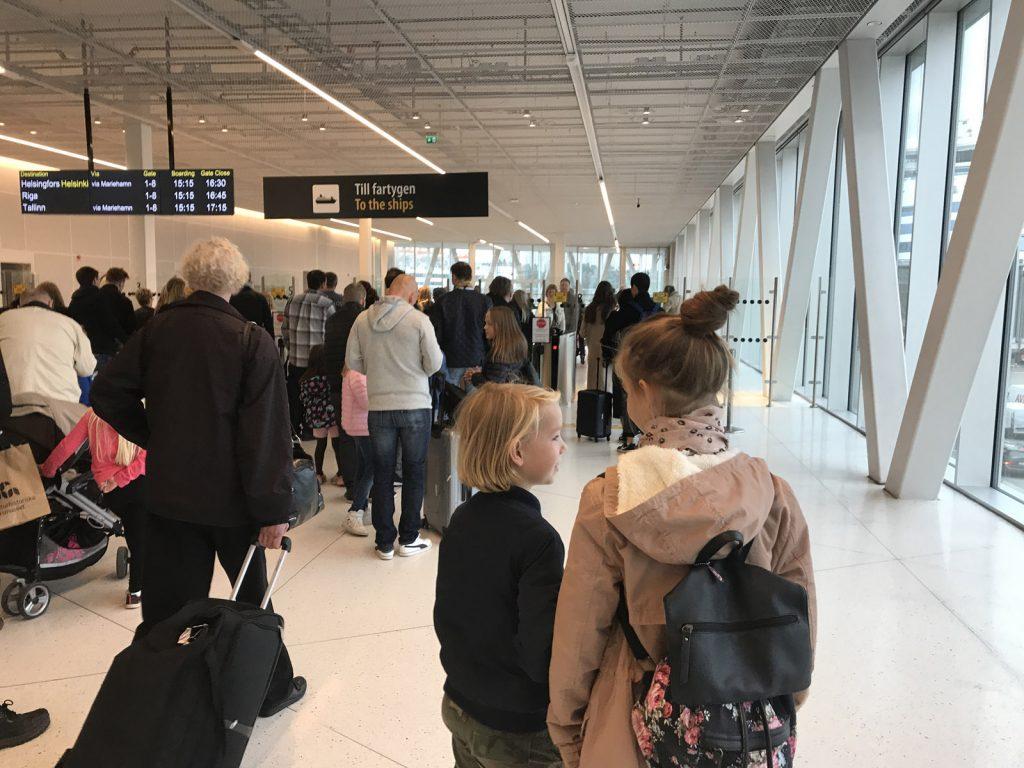 Silja Line till Helsingfors