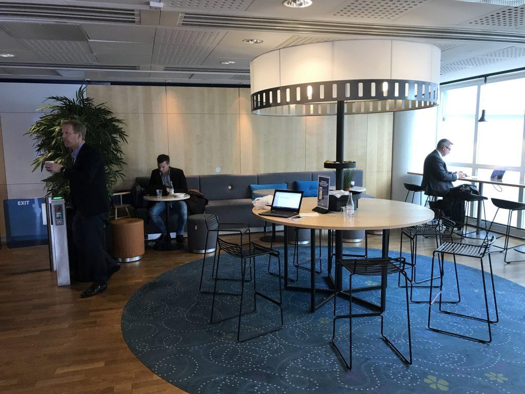 SAS Lounge på Arlanda Terminal 4 Inrikes