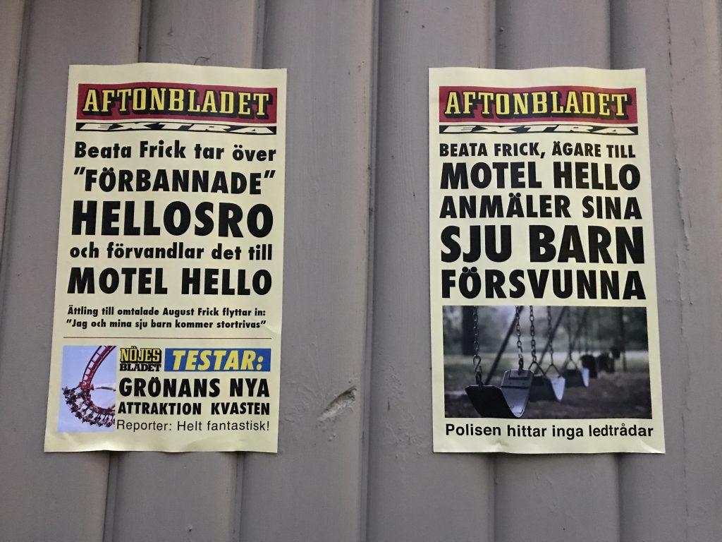 Motell Hell Gröna Lund