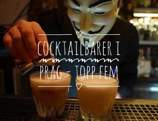 Cocktailbarer i Prag