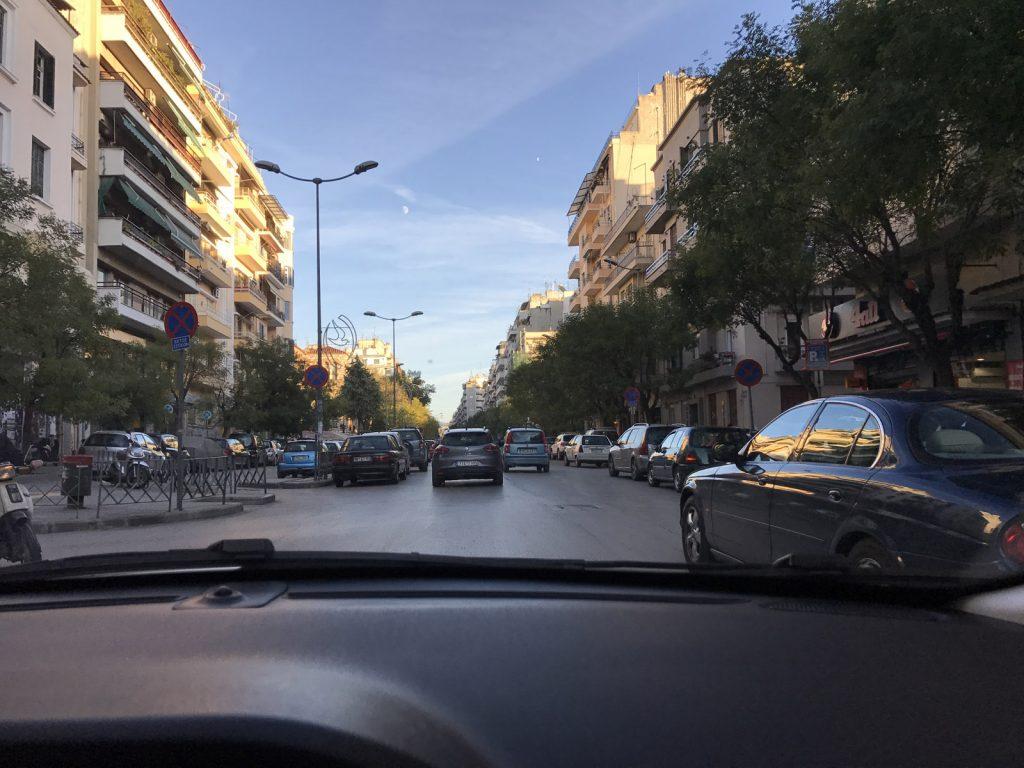 Hyrbil på Thessalonikis flygplats
