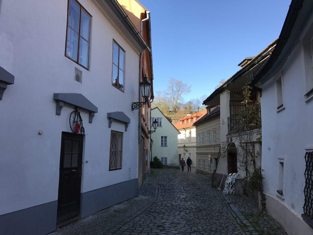 Sightseeing i Prag Nový Svět