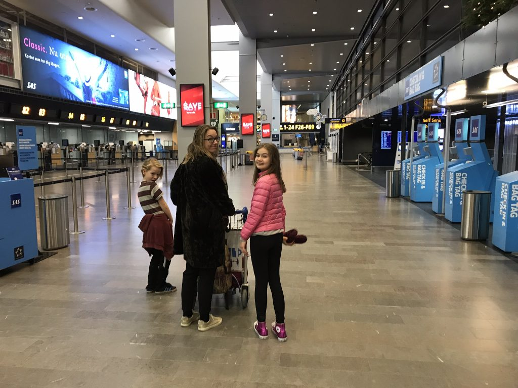 Öde Arlanda på julafton