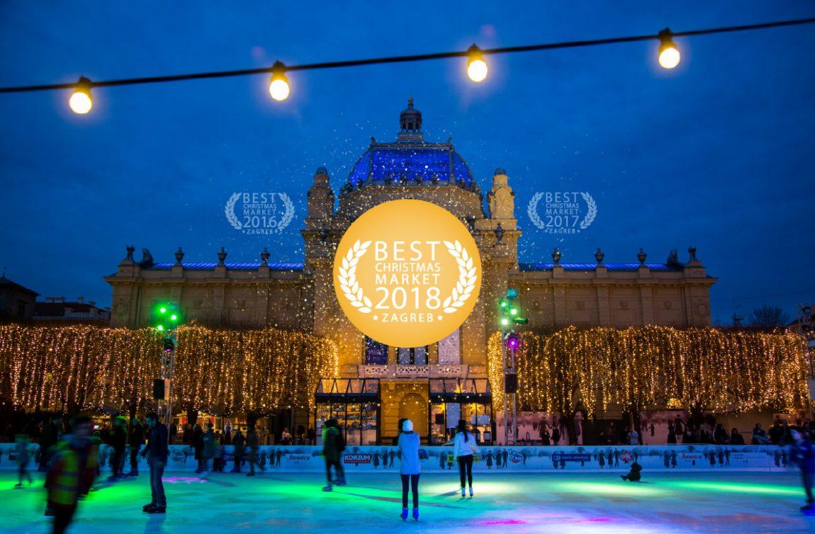 Zagreb utsedd till Europas bästa julmarknad
