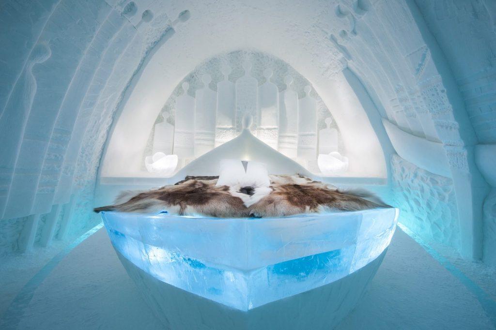 Icehotel i Jukkasjärvi