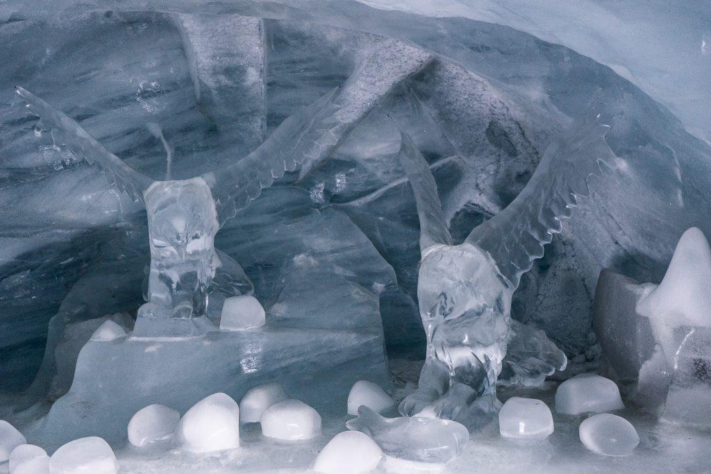Ice Palace påJungfraujoch