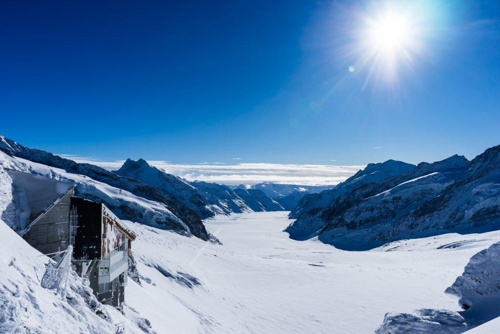 Glacier Plateau påJungfraujoch