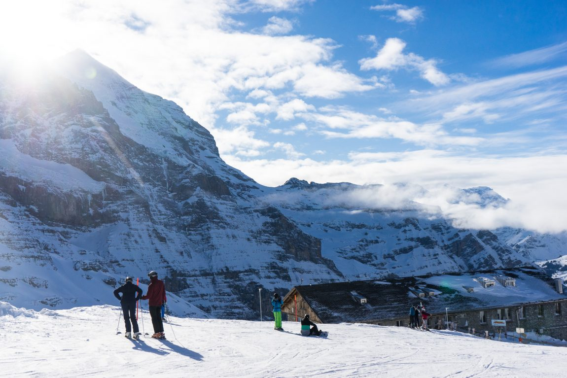 Kleine Scheidegg i Schweiz