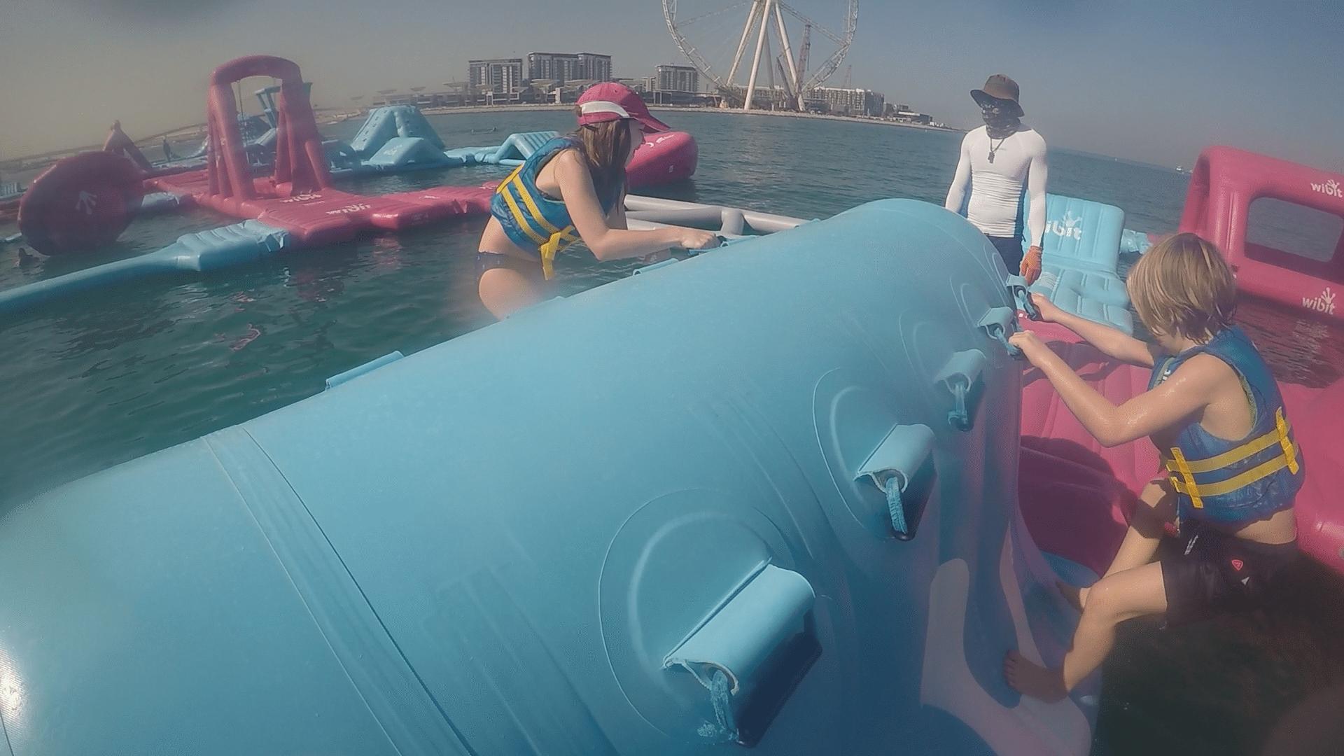 Aqua Fun I Dubai V 228 Rldens St 246 Rsta Hinderbana P 229 Vatten