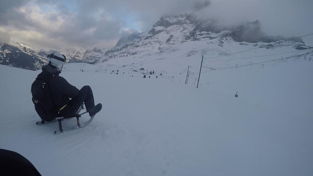 Kälkåkning i Schweiz