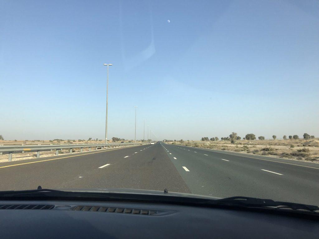 Dubais öken på egen hand