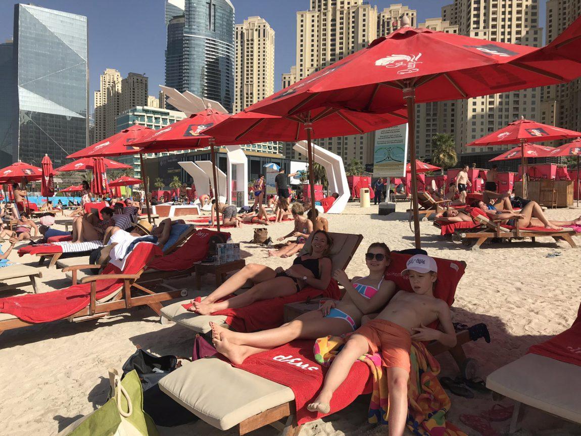 Allmänna stränder i Dubai