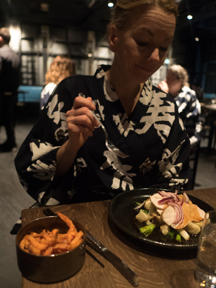 Middag på Yasuragi