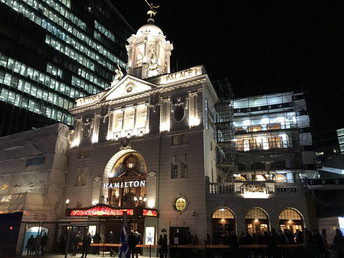 Hamilton musikal i London