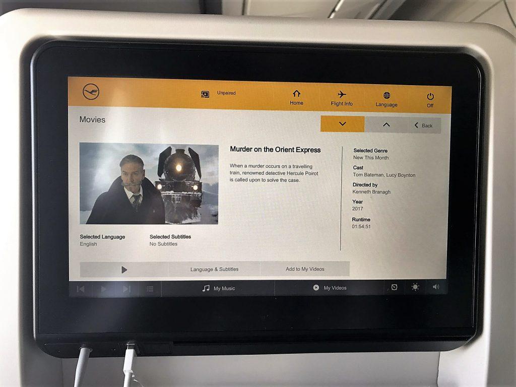 Lufthansa Airbus A350-900 till Tokyo