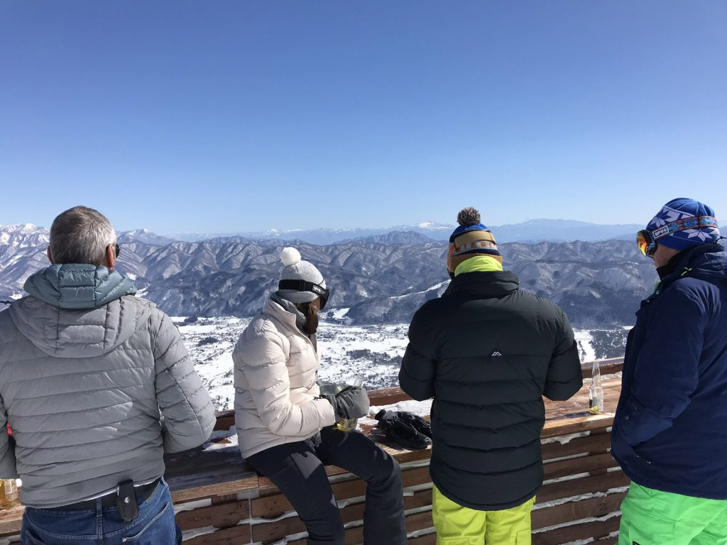 Skidåkning i Japan - Happo i Habuka