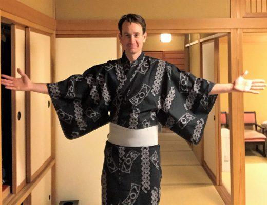 Rummet på ett Ryokan