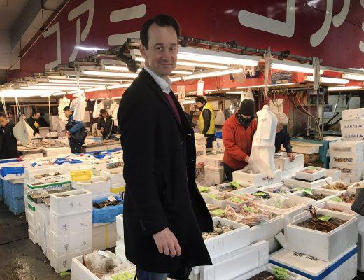 Tokyos fiskmarknadTsukijiFishmarket