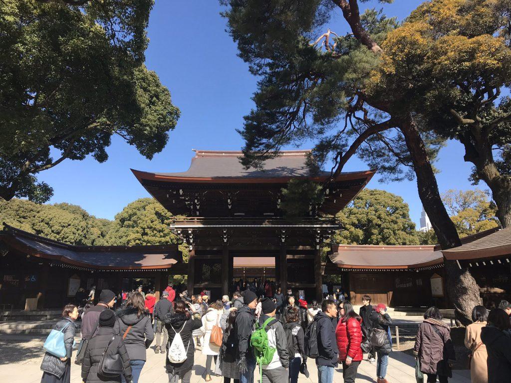Trädgårdar och tempel i Tokyo