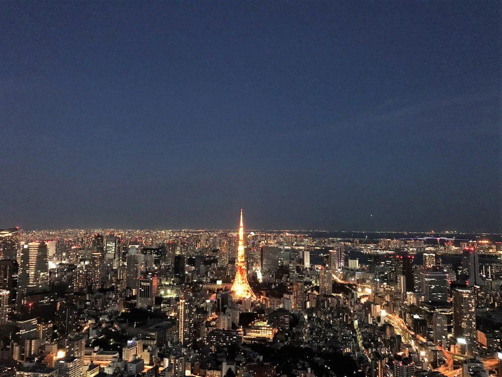 Utsiktsplats på Mori Art