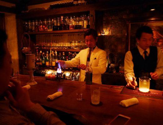 Bargator och barer i Shinjuku