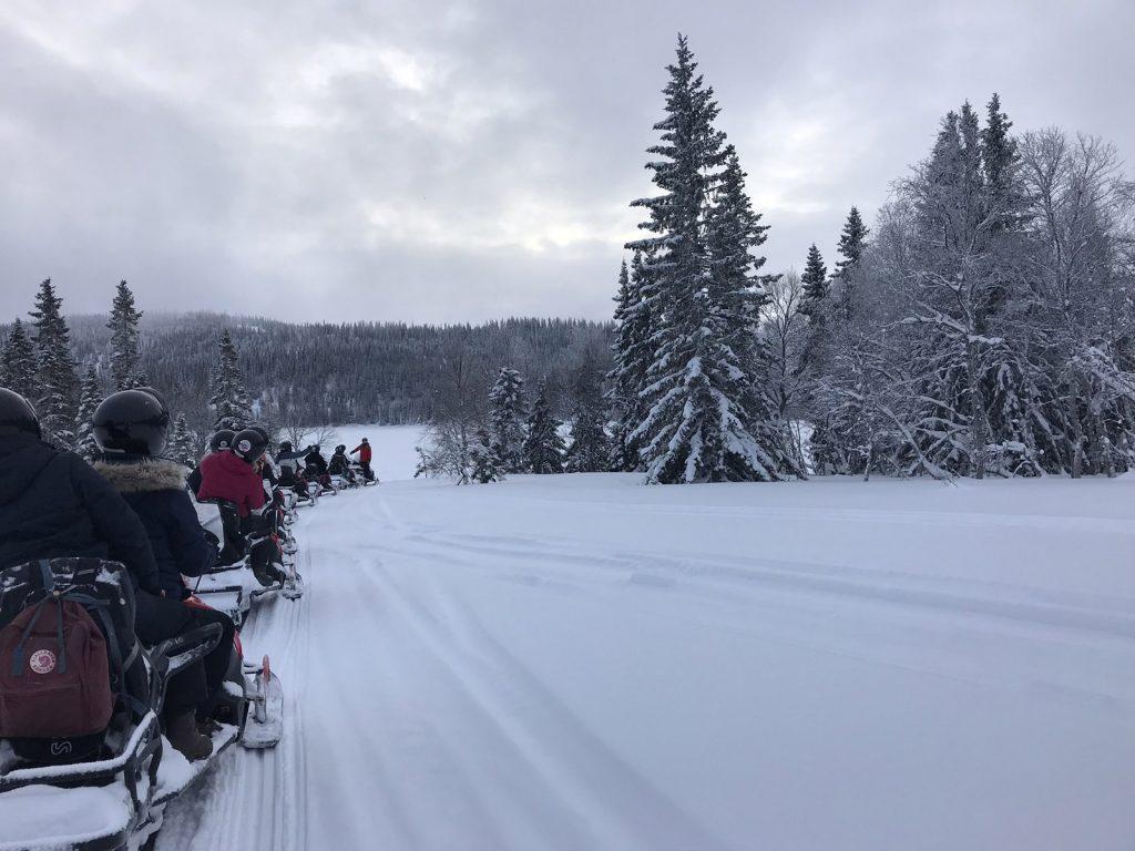 Skoterutflykt i Åre