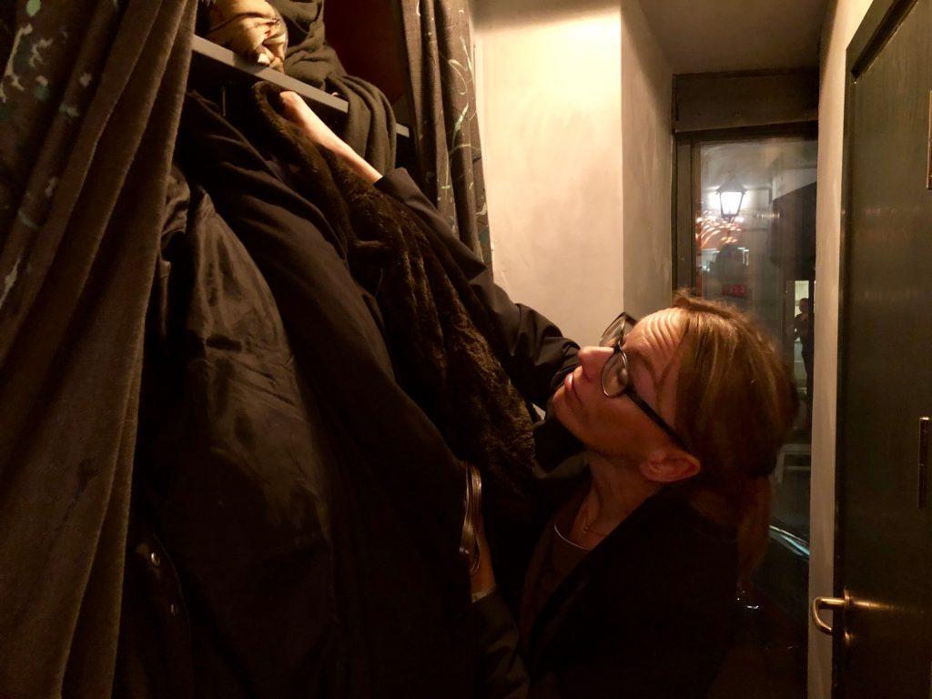 Garderoben på Kagges