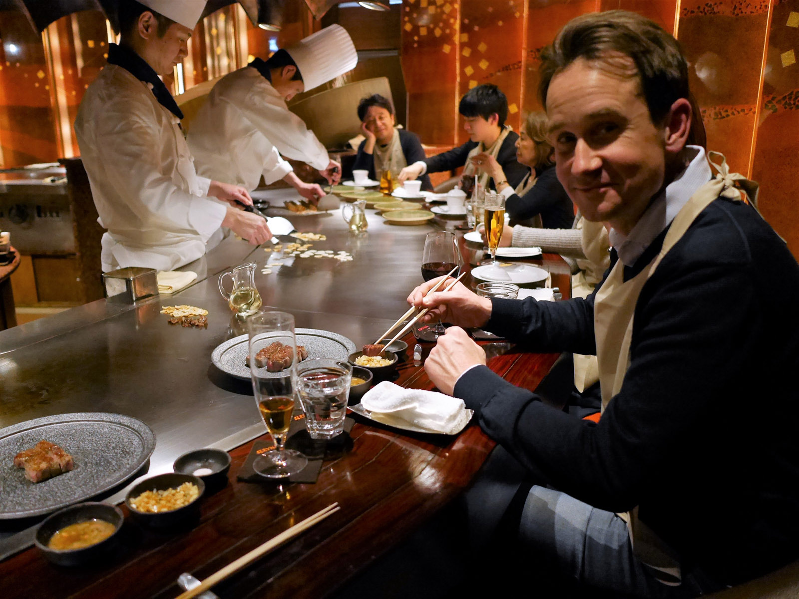japansk restaurang stockholm teppanyaki