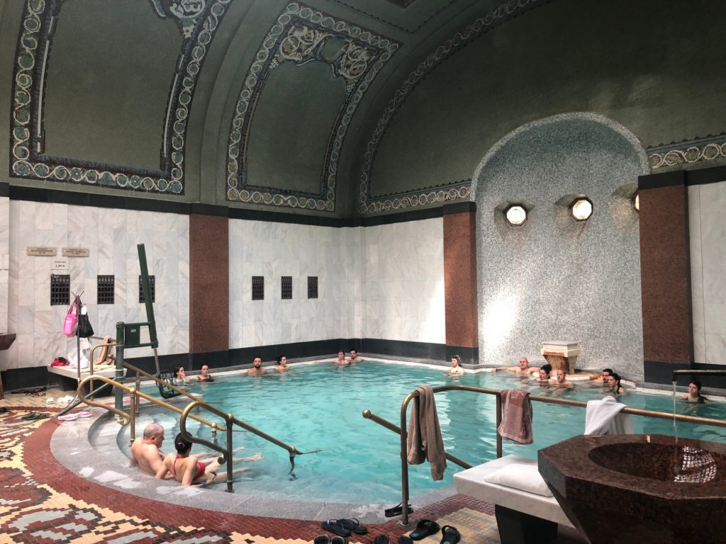 Thermalbad i Budapest Gellert Thermal Bath