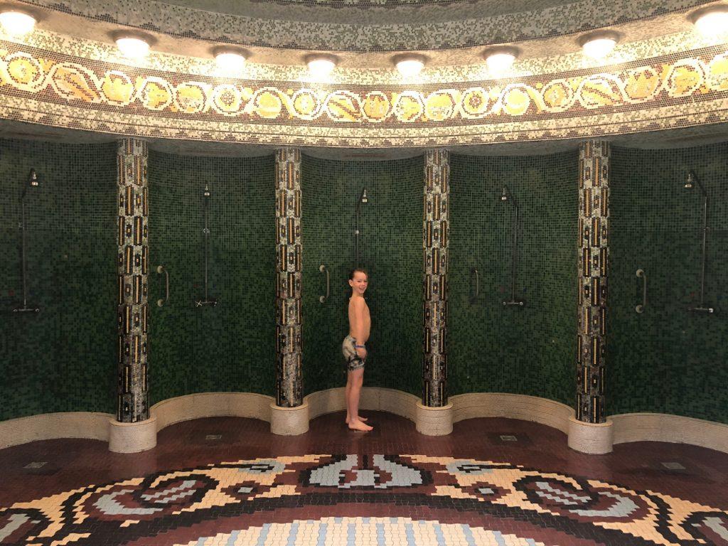 Thermalbad i BudapestGellert Thermal Bath