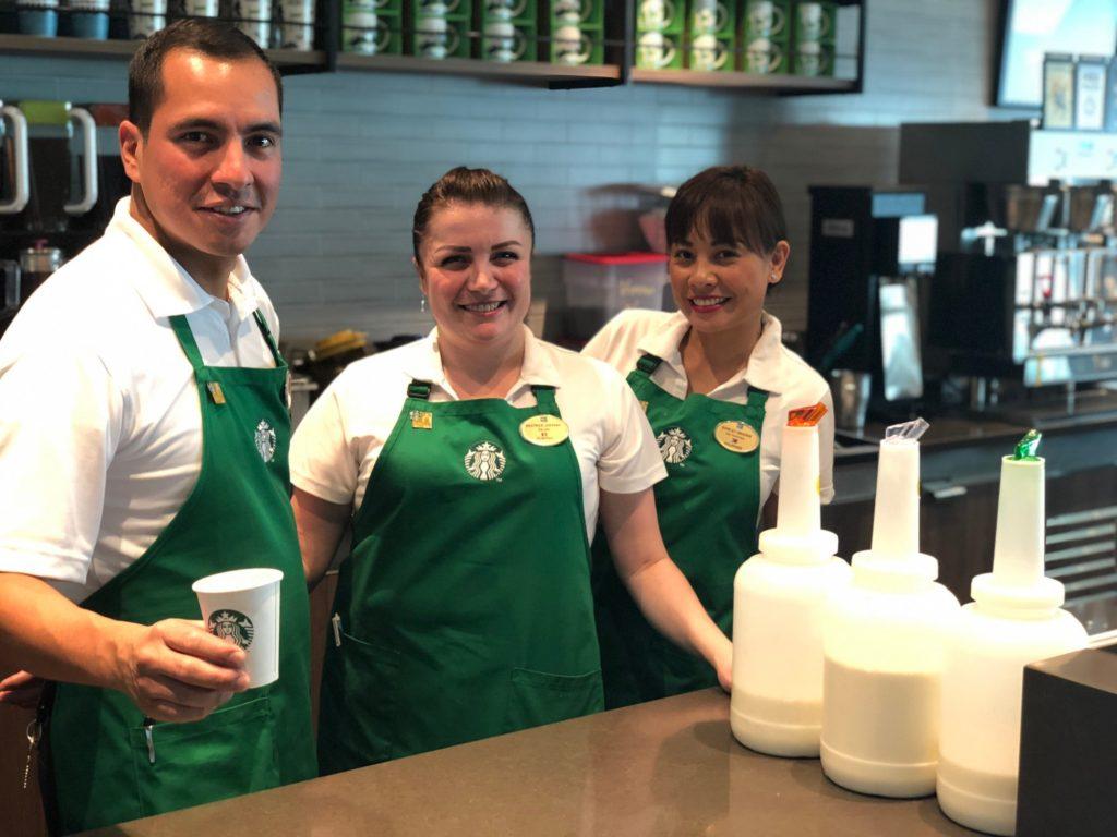 Starbucks på Norwegian Bliss