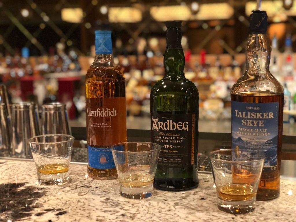 Whisky på Norwegian Bliss