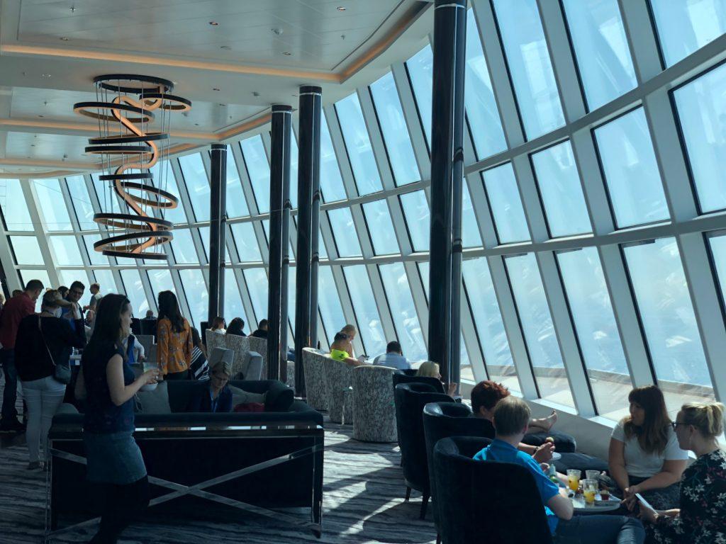 Observation Lounges på Norwegian Bliss