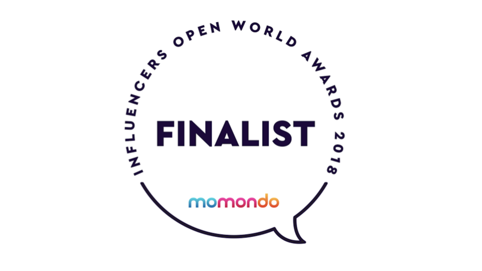 Finalister i Momondo Open World Awards 2018