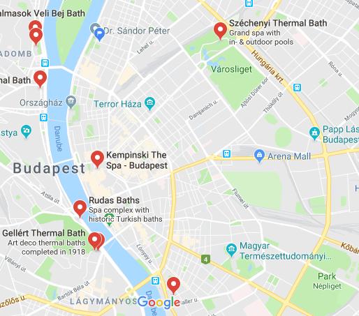 Thermalbad i Budapest