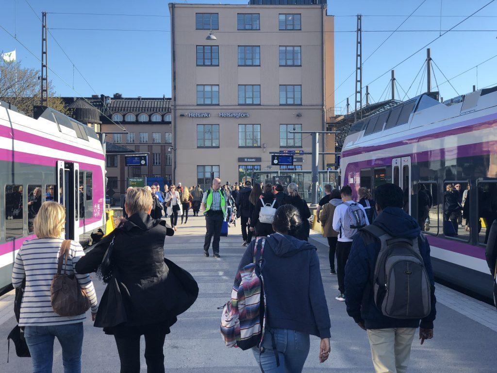 Tåg från Helsingfors flygplats