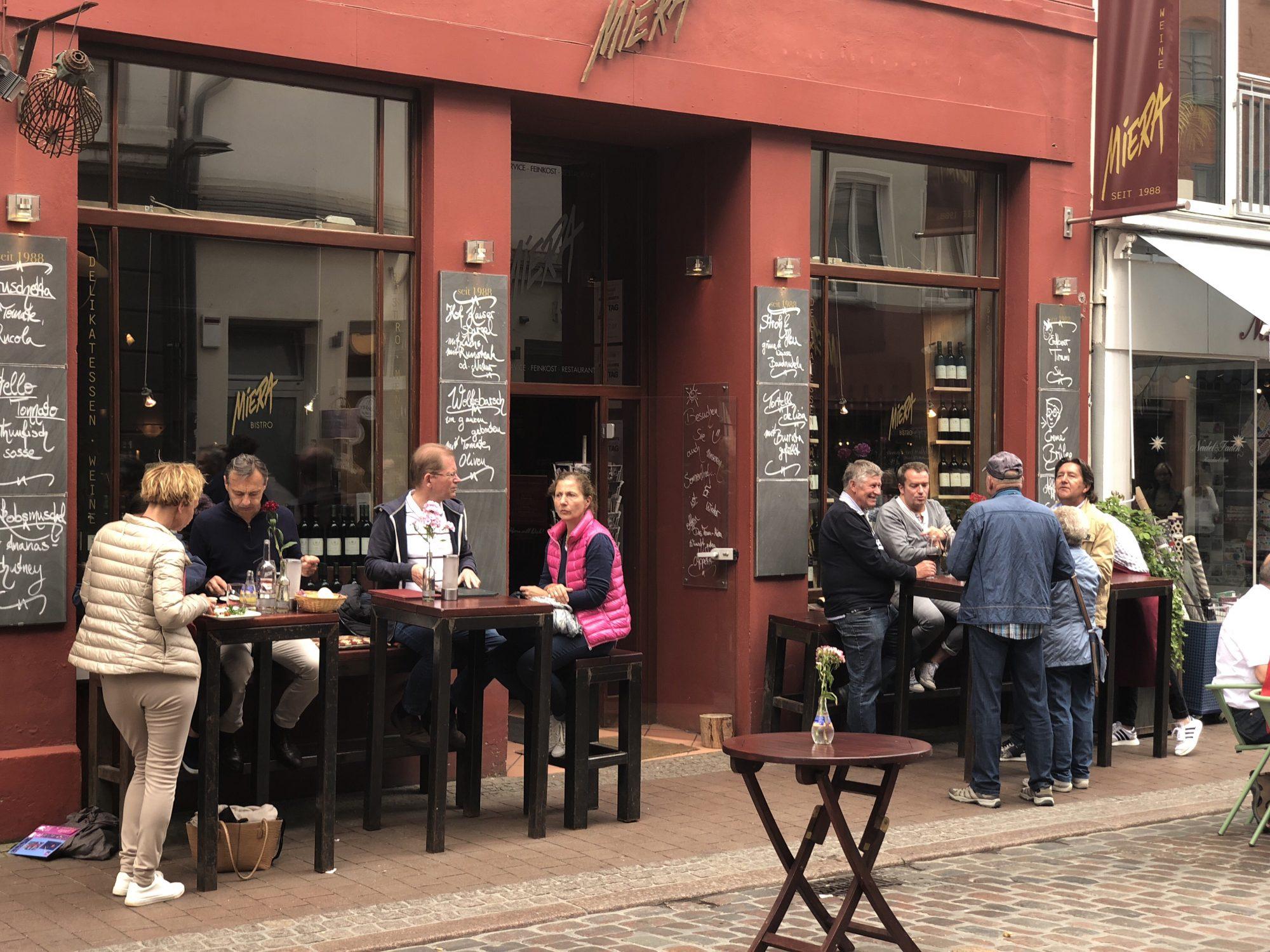 Restauranger i Lubeck - Miera