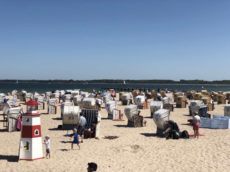 Stranden i Travemünde