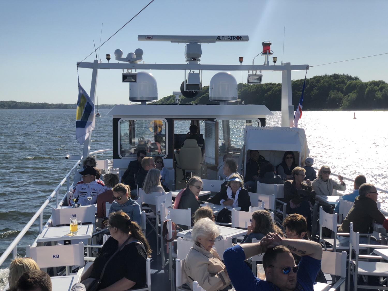 Båt från Travemünde till Lubeck