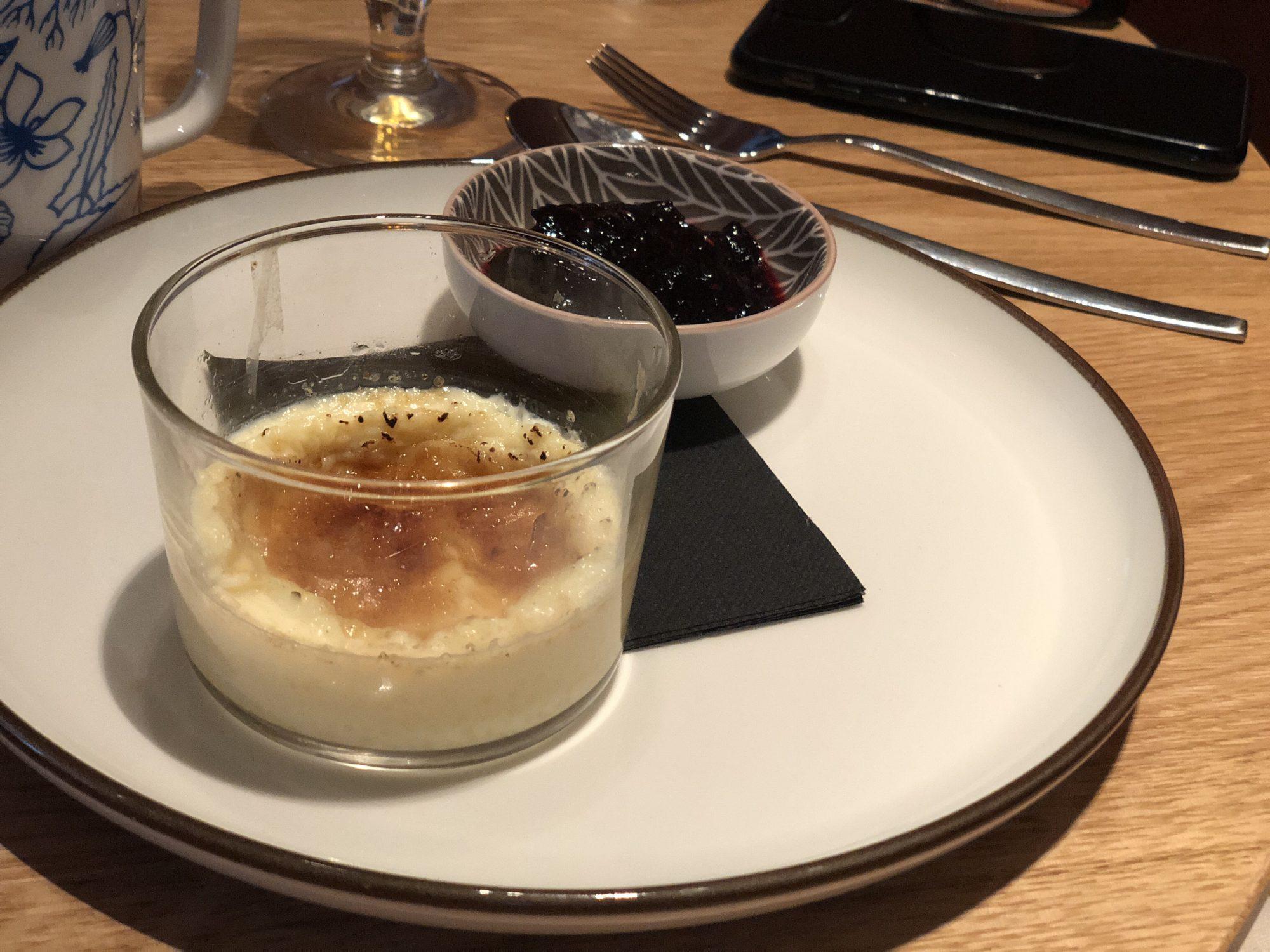 Restaurang Lykke Desserter
