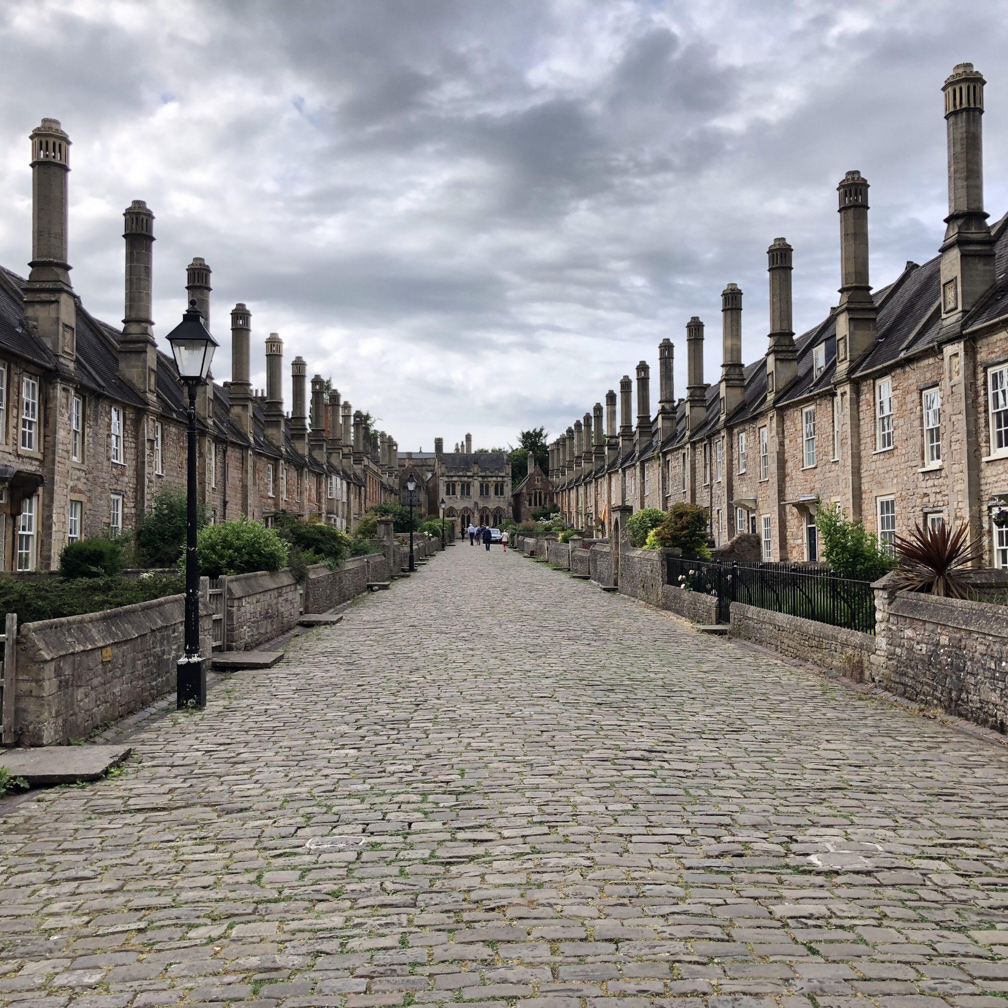 Vicar's Close - Europas äldsta gata