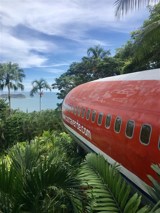 bo i en Boeing 727