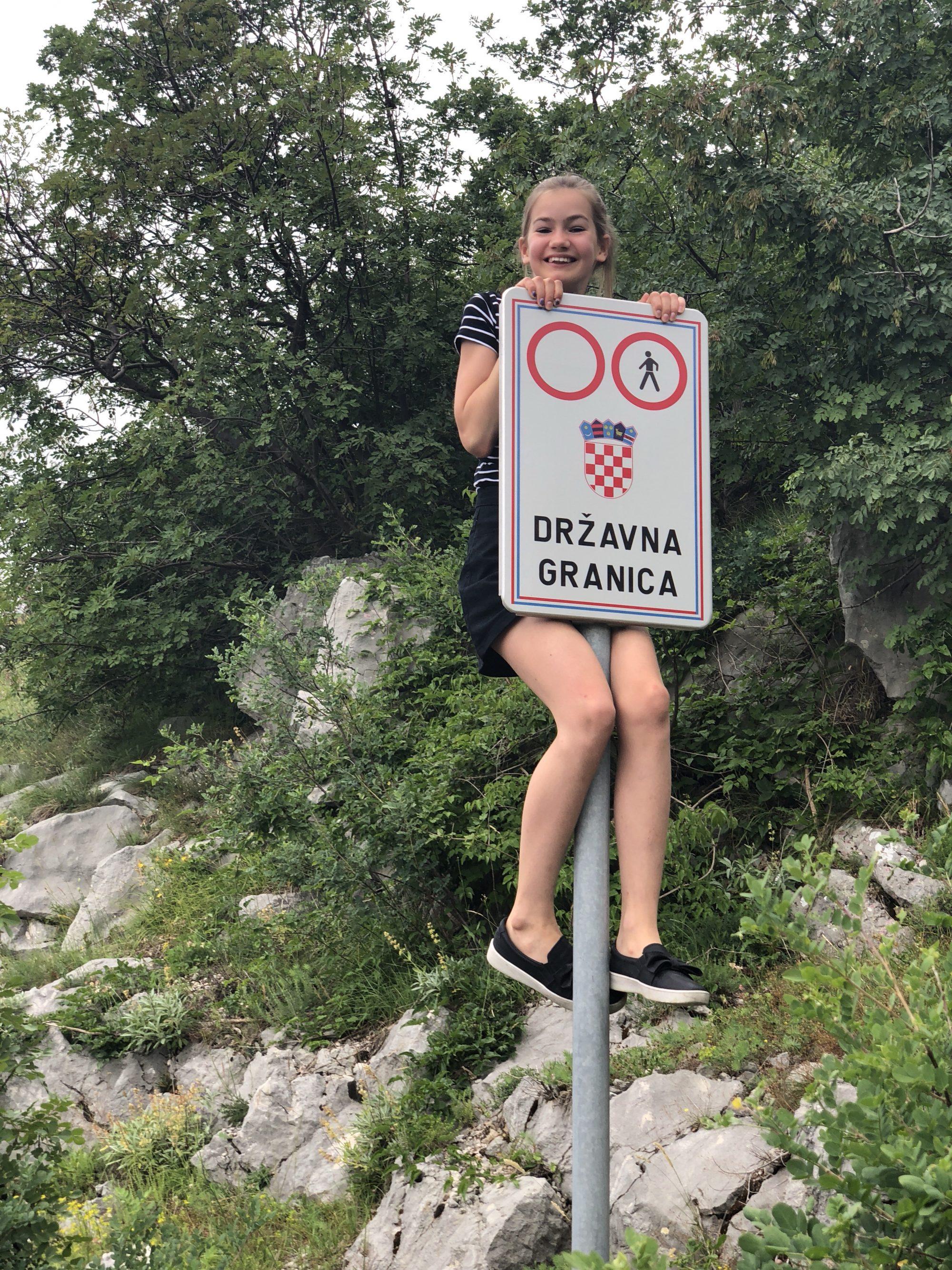 korsa gränsen till Bosnien