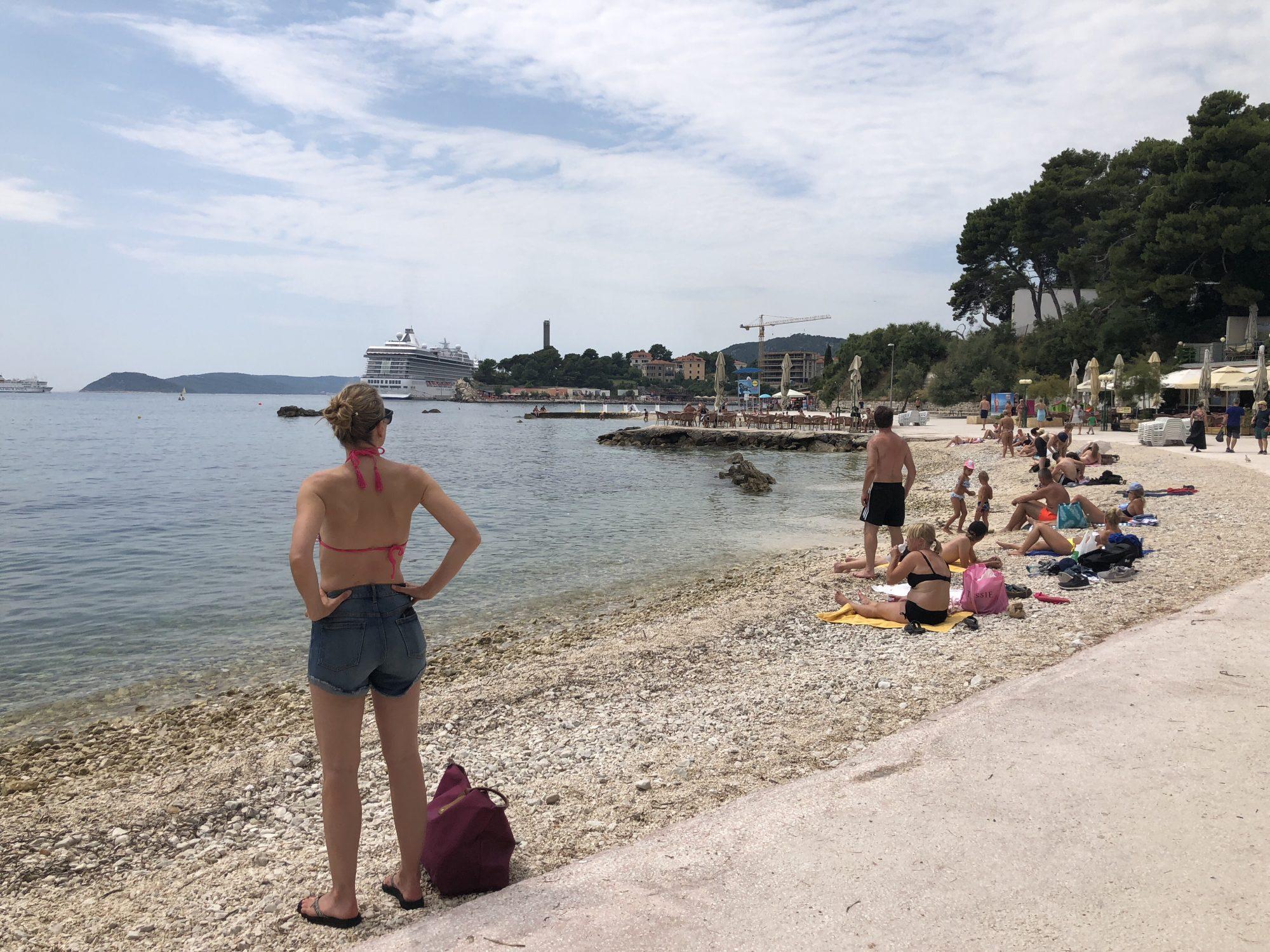 Stränder i SplitBacvice Beach