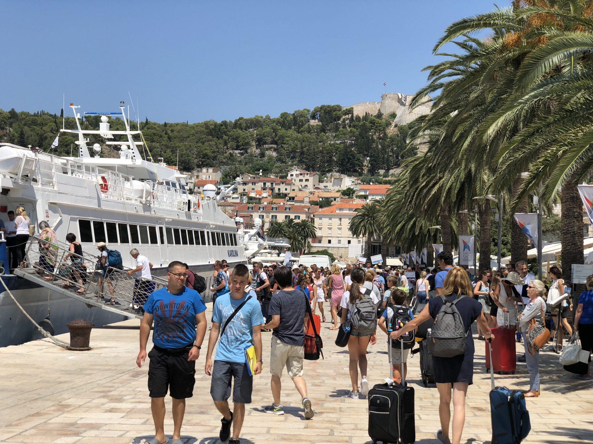 Dagsutflykt till Hvar från Split