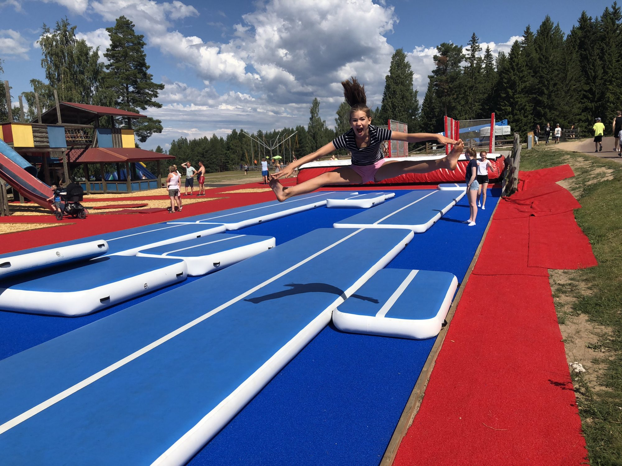 Leksand Sommarlands nya Jump Park
