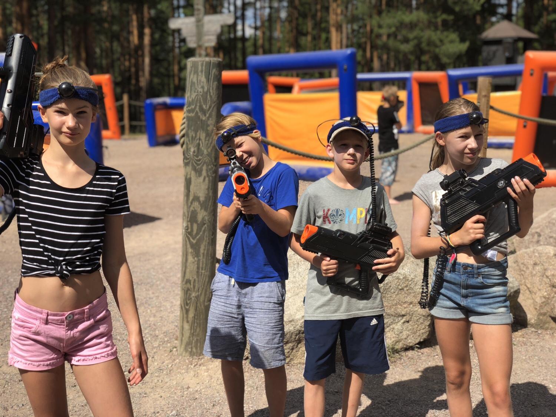 Våra favoriter på Leksand sommarland - Laser Tag